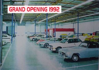 About BodyTech Auto Body Collision Repair Grand Opening in 1992