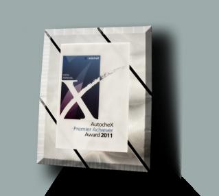 2011 Natinal Premier Achiever Award Plaque, Bodytech Ventura