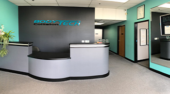 bodytech autobody collision repair shop lobby